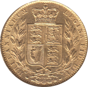 1864 SOVEREIGN ( EF )