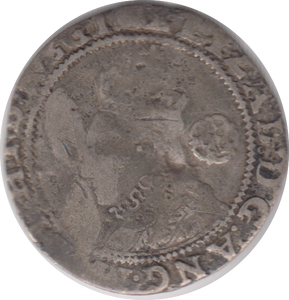 1564 SILVER SIXPENCE ELIZABETH 1ST REF 102