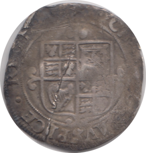 1625 - 1649 SILVER SIXPENCE CHARLES 1ST REF 114