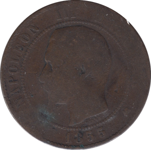 1855 10 CENTIMES FRANCE