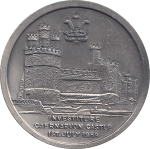 1969 INVESTITURE CAERNARVON CASTLE 1ST JULY MEDAL WALES