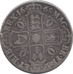 1668 CROWN ( FINE ) 1 CHARLES II