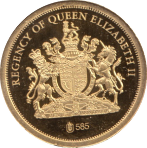 2012 GOLD PROOF  1952-THE ACCESSION THE QUEEN'S DIAMOND JUBILEE. REF 30