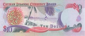 1996 CAYMAN ISLANDS TEN DOLLARS BANKNOTE REF 649