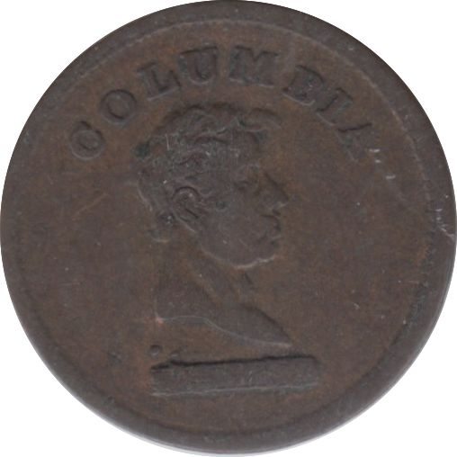 17TH-19TH FARTHING TOKEN ( REF 260 )