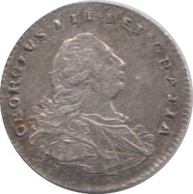 1800 MAUNDY ONE PENNY ( VF )