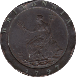 1797 TWO PENCE ( GVF )