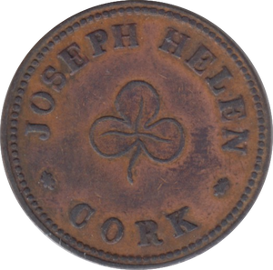 17TH-19TH FARTHING TOKEN ( REF 257 )