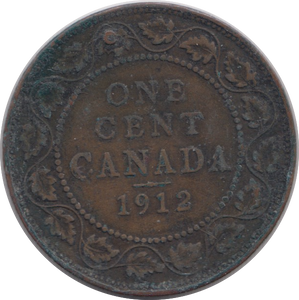 1912 ONE CENT CANADA