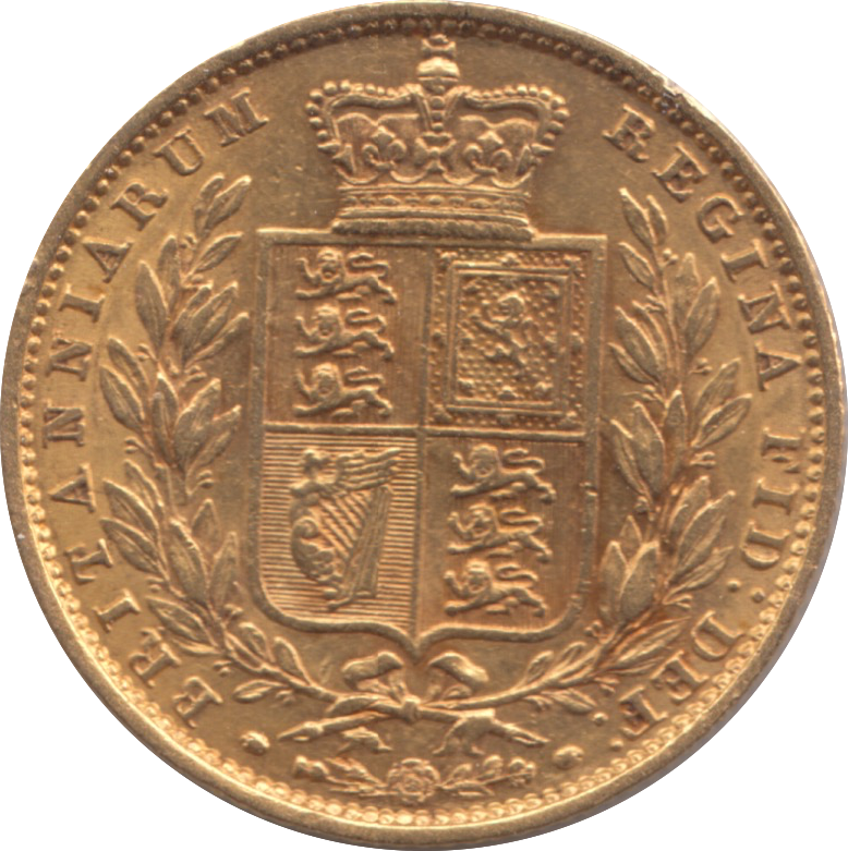 1853 SOVEREIGN ( EF ) 14