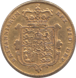 1827 HALF SOVEREIGN ( GVF )