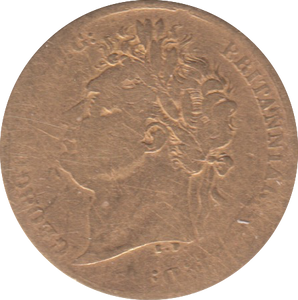 1825 HALF SOVEREIGN ( NF )