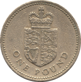 1988 CIRCULATED £1 Shield