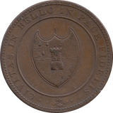 1811 Worcester City and County Penny Token