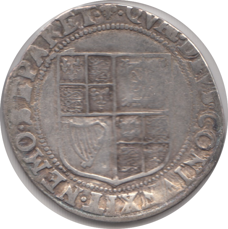 1603 -  JAMES 1ST SILVER SHILLING 2 REF 39