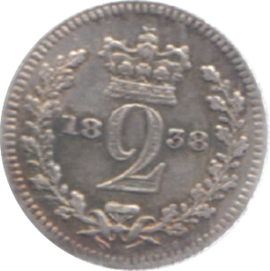 1838 MAUNDY TWO PENCE ( GF ) 22