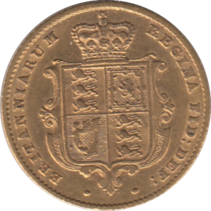 1852 HALF SOVEREIGN ( GVF )