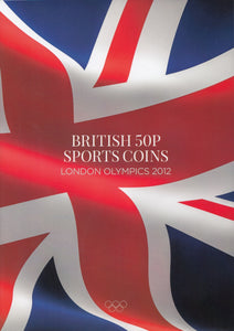 2019 EDITION LONDON OLYMPIC 2012 50P COINS SPORTS COIN HUNT COLLECTORS ALBUM