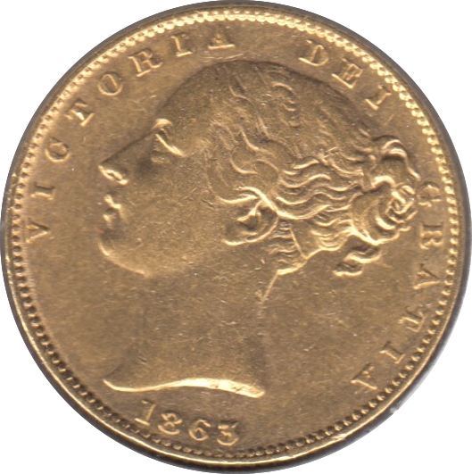 1863 SOVEREIGN ( EF )