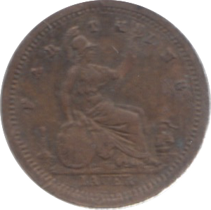 MODEL FARTHING TOY MONEY VICTORIA