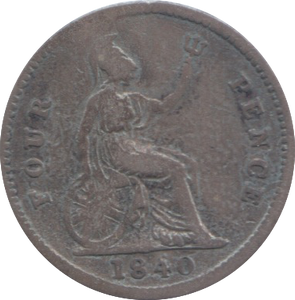 1840 FOURPENCE ( FAIR ) 4