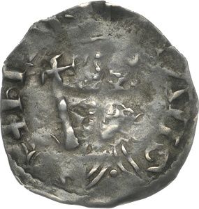 1154 - 1189 SILVER PENNY HENRY II CANTERBURY, GOLDHAVOC 1.46 GRAMS CLASS B2  REF 43