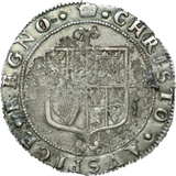 1660 - 85 SILVER SHILLING THIRD ISSUE CROWN CHARLES II REF 108