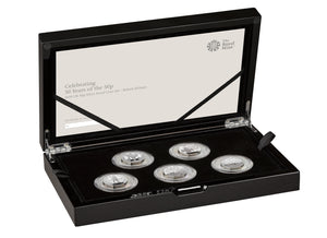 2019 Celebrating 50 years of the 50p British Military Silver Proof Set