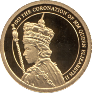 2012 GOLD PROOF  1953- THE CORONATION  THE QUEEN'S DIAMOND JUBILEE. REF 32A