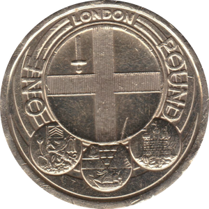 2010 CIRCULATED £1 London