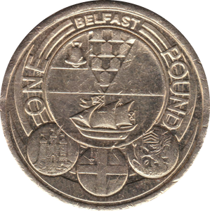 2010 CIRCULATED £1 Belfast