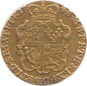 1748 ONE GUINEA GEORGE II