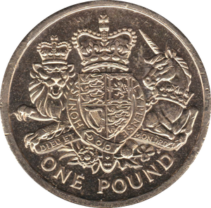 2015 CIRCULATED £1 Royal Arms