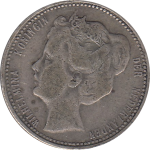 1903 SILVER 25 CENTS NETHERLANDS REF H87