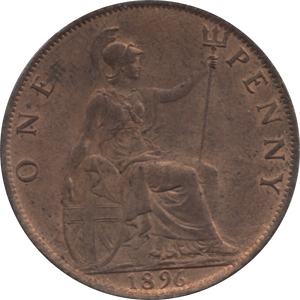 1896 PENNY ( UNC ) 77