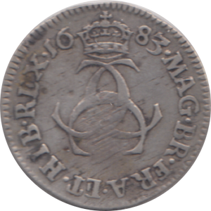 1683 MAUNDY THREEPENCE ( GF )