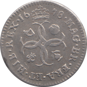 1678 MAUNDY FOURPENCE ( GVF )