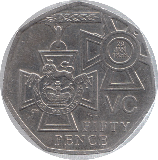 2006 CIRCULATED 50P VICTORIA CROSS