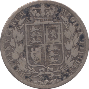 1883 HALFCROWN ( FAIR ) 4