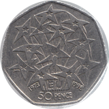 1998 CIRCULATED 50P EU ENTRY