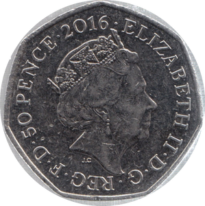 2016 CIRCULATED 50P MISS TIGGYWINKLE