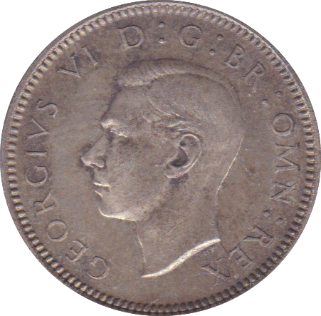 1937 SIXPENCE ( PROOF )