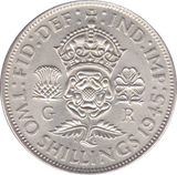 1945 TWO SHILLINGS ( AUNC ) A