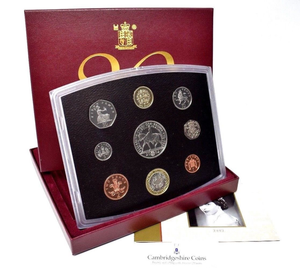 2002 ROYAL MINT PROOF SET