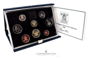 1986  ROYAL MINT PROOF SET
