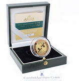 2007 Gold Proof £2 Act Of Union Coin Box COA Bullion Double Sovereign