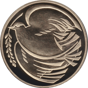 1995 TWO POUND PROOF £2 WORLD WAR II DOVE