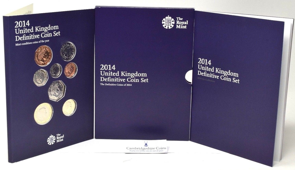 2014 BRILLIANT UNCIRCULATED COIN YEAR SET