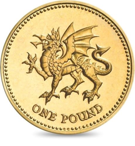 Brilliant Uncirculated £1 Coin Presentation Pack Wales 1995