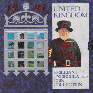 1994 BRILLIANT UNCIRCULATED COIN YEAR SET
